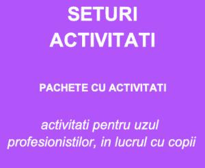 Seturi ACTIVITATI